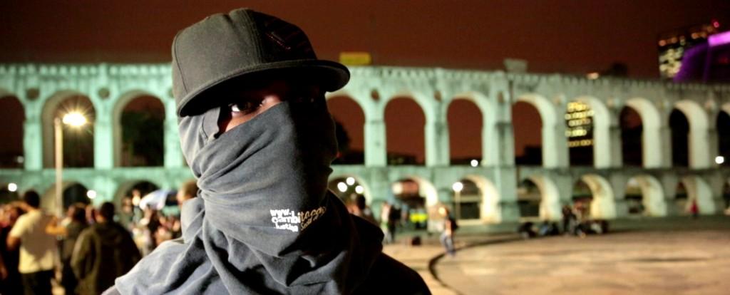 """Ninguém é Black Bloc"" (Nadie es Black Bloc) imagen destacada"